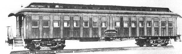 A Pullman Rail Car - The Pioneer, 1907